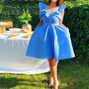 Maje dress baby blue color size 1